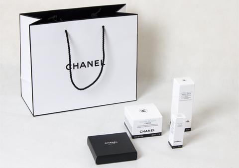 chanel化妆品盒